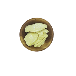 Organic Unrefined Cocoa Butter flat lay