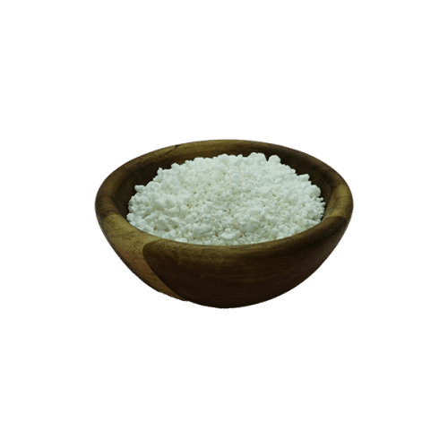 Ground Coconut Soap in acacia bowl