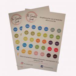 doTERRA June 2020 Australian Release Cap Stickers