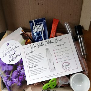 The Essential Guide Welcome Kit you get when ordering doTERRA Essential Oils