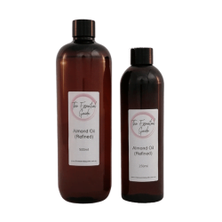 Almond Oil refined 500ml & 250ml