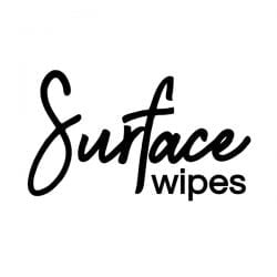 Surface Wipes Vinyl Label